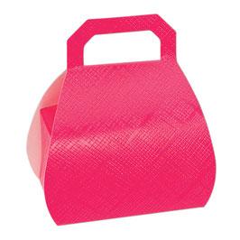 Handtaschen Geschenkschachtel pink, 10 Stück