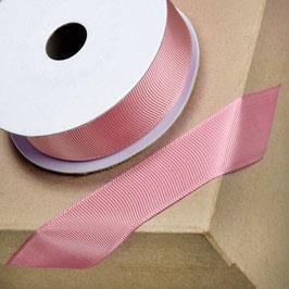 Ripsband dusky pink 25mm - 10 Meter