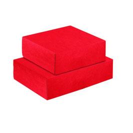 Geschenkbox Milano 400 rot - 40x40x19,5 cm