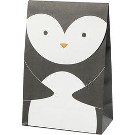 Papiertüte Pinguin - 6 St.