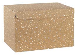 Geschenkbox Palermo STARS  - 39x27x23,5 cm