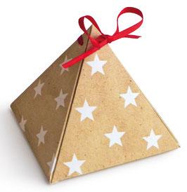 """Geschenkverpackungen """"Pyramide"""""""