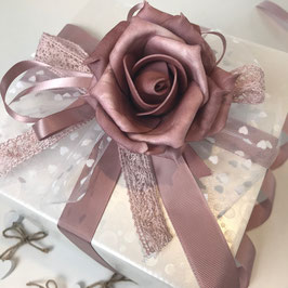Verpackungsset Rose taupe