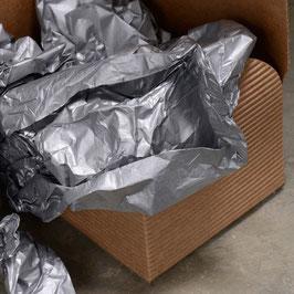 Seidenpapier Metallic Silber