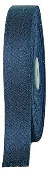 Glitzerndes Geschenkband dunkelblau 25mm - 5 Meter