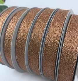 Lurex Band kupfer-metallic