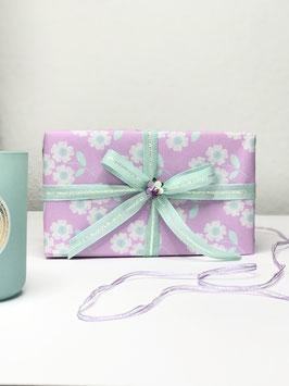 "Geschenkverpackung-Set ""Bloom lilac"""