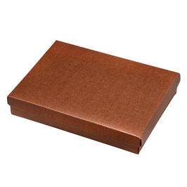 Geschenkschachtel Rechteck mit Deckel braun