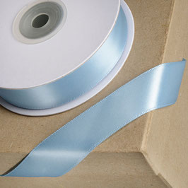 Satinband duck egg blue 15mm - 5 Meter