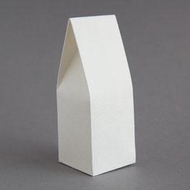 Milchkarton Geschenkschachtel weiß