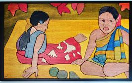 Le tahitiane di Gaugain 30x50cm