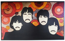 The Beatles- strawberry fields  30x50cm