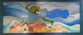 Ispirati a Chagall 40x120cm