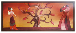 Come Klimt- L' albero della Vita 40x100cm