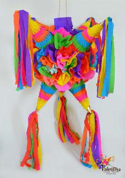 Blumige Stern-Piñata mit 7 Spitzen