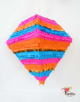 Diamant-Piñata in Boho-Chic Style