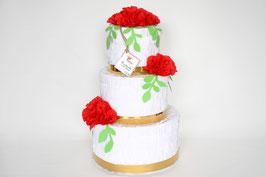 "Wedding Cake-Piñata ""Rot"""