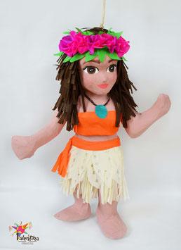 Hawaiianische Prinzessin-Piñata
