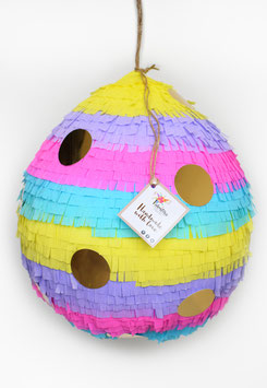 Osterei-Piñata in bunten Farben