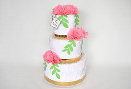 "Wedding Cake-Piñata ""Rosé"""