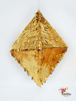 "Piñata ""Raute-Diamant"" in Gold"