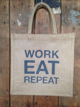 Work eat repeat / Eat sleep repeat