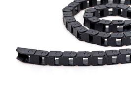 Kabelkette 10 mm x 16 mm aus Kunststoff, Länge: 1,02 m