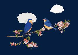 "Postkarte ""LOVEBIRDS"""