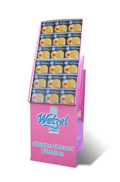 90x WETZEL Kleine Schokolade Oblaten 40g