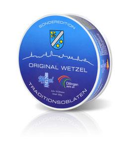 "Original WETZEL Traditionsoblaten als Sonderedition ""Dillingen"""