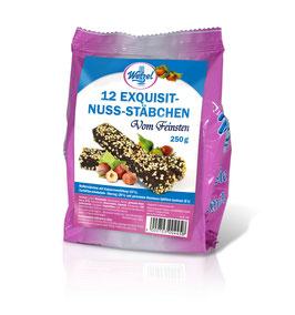 WETZEL VOM FEINSTEN Schoko-Haselnuss-Stäbchen