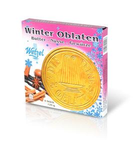 WETZEL Winter Oblaten (Saison-Artikel, nur von September - Januar)