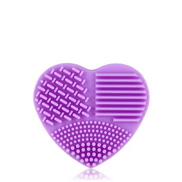 Handschuh zur Reinigung von Kosmetikpinsel, pink
