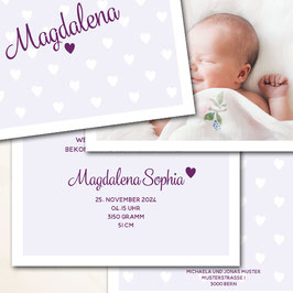 Magdalena zum Aufklappen