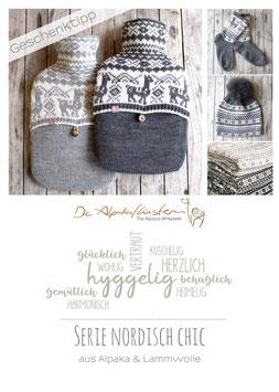 Neu _ Alpaka Socke Skandinavien