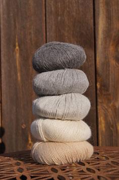 100 % Baby Alpaka Wolle | 100m/50g