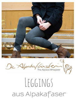 Alpaka Leggings für Ladies & Kinder