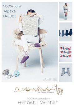 Alpaka Sockenwolle & klassischer Allrounder im Winter