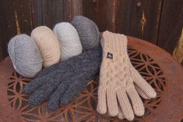 Premium Handschuh Gitternetzoptik | extra warm