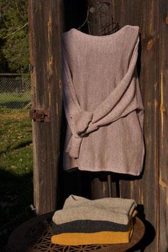 Alpaka Pullover mit Schmetterlingsärmeln