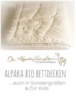 Premium***** Alpaka Bio Steppbett | Winter extra warm