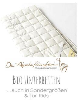 Bio Matratzenauflagen /Unterbetten