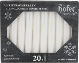 Tropffreie Weihnachtskerzen, metallic perlmutt