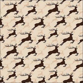 40 Jumping Deer