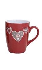 Becher/Tasse mit Herzen