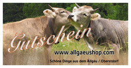 Allgäushop    Gutschein