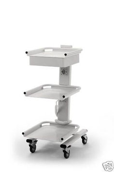 Cart mit drei Böden, Schublade und zwei integrierten Steckdosen