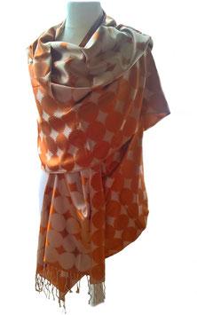 Seidenstola - Schal - Pashmina aus reiner Seide