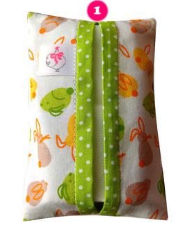 Bunte Taschentüchertasche (TaTüTa) - Bunte Accessoires die jedes Herz erfreuen