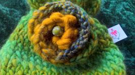 Geschenkbeutel, Handarbeit-Unikat - Effekt Wolle